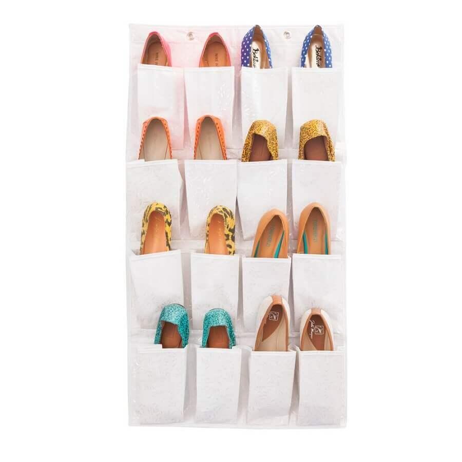 ideias para guardar sapatos simples