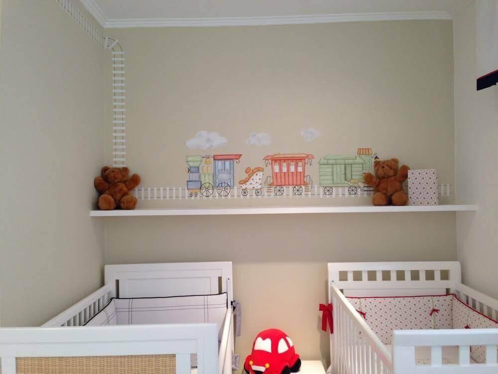 ideias para quarto de bebê gêmeos