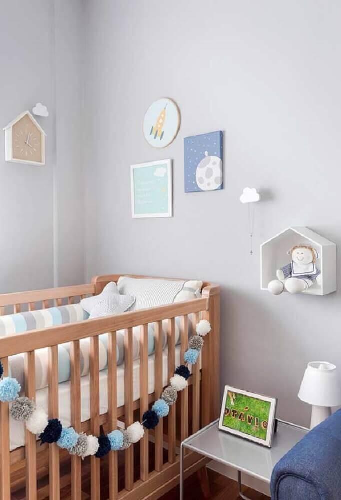 ideias para quarto de bebê pequeno