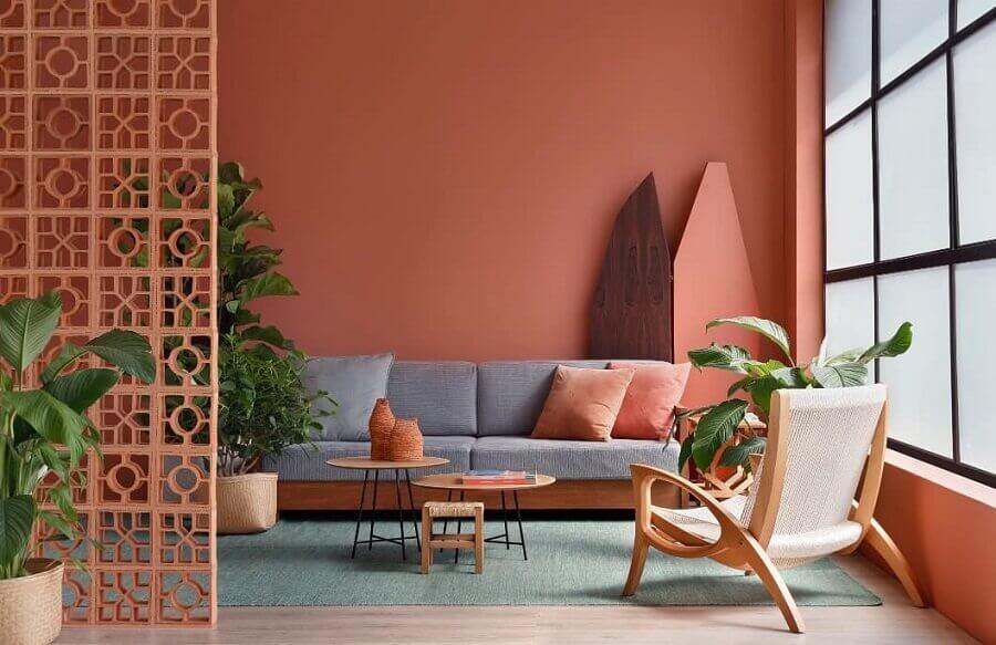 melhores cores para sala Foto Wolens