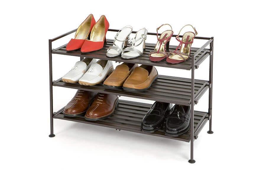 modelo de móvel para organizar sapatos