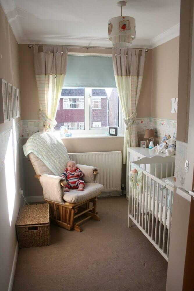 modelo de poltrona para quarto pequeno de bebê