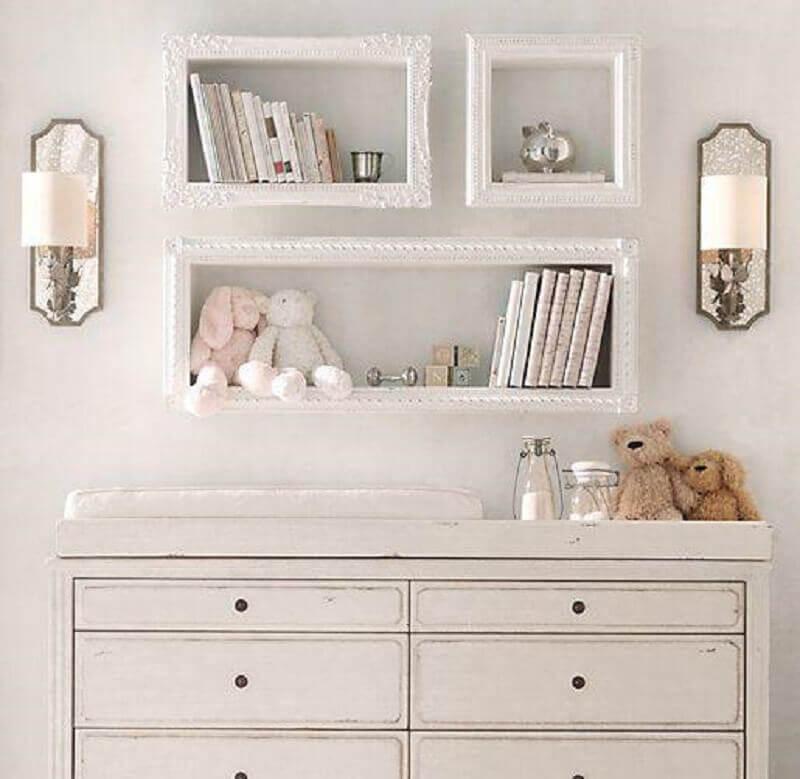 modelos de nichos para quarto de bebê
