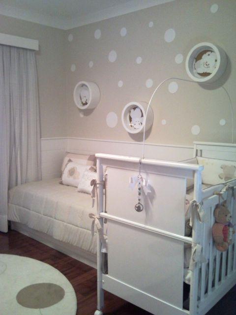nichos para quarto de bebê - quarto com nichos redondos