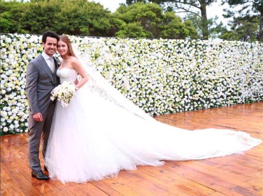 painel de flores casamento marina ruy barbosa