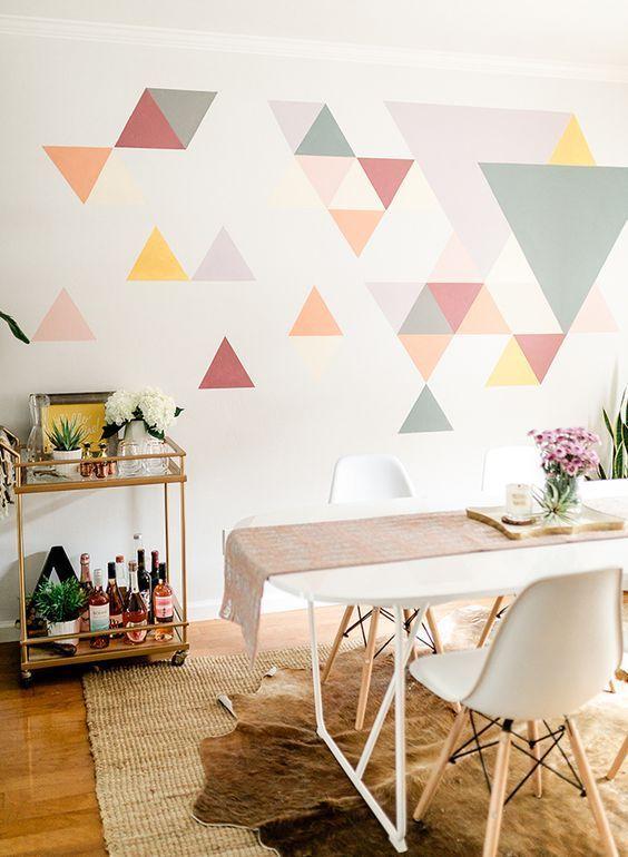 Paredes decoradas para casa moderna
