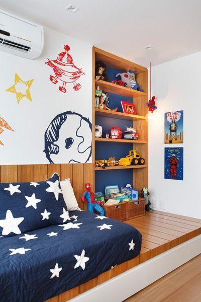 Paredes decoradas para quarto infantil