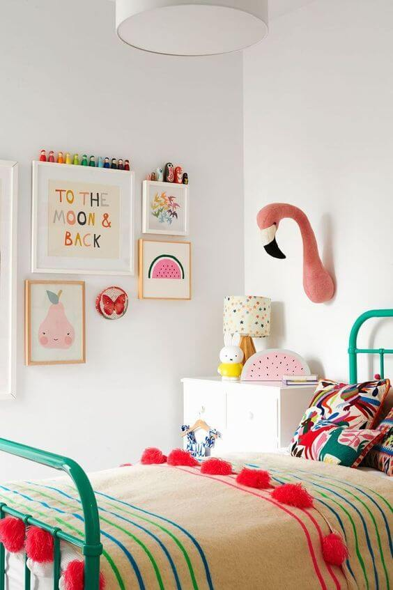 Paredes decoradas para quarto moderno