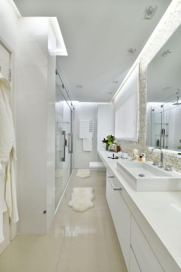 Piso para banheiro e clean