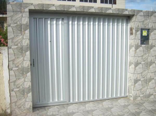 portão de alumínio para entrada de casa