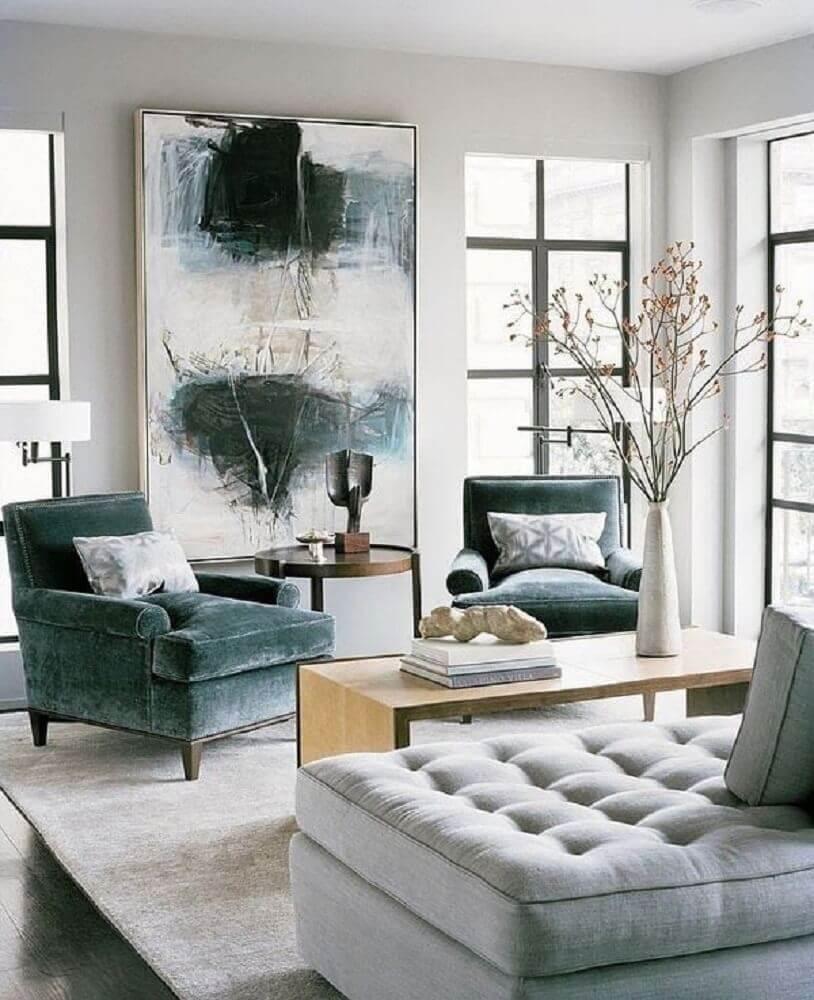quadros decorativos grandes para sala de estar