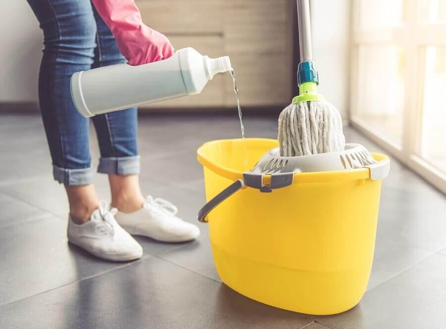 saiba escolher os produtos de limpeza para casa