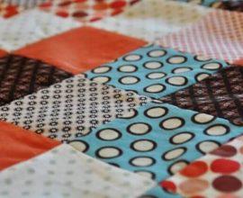 4Peça de patchwork pronta