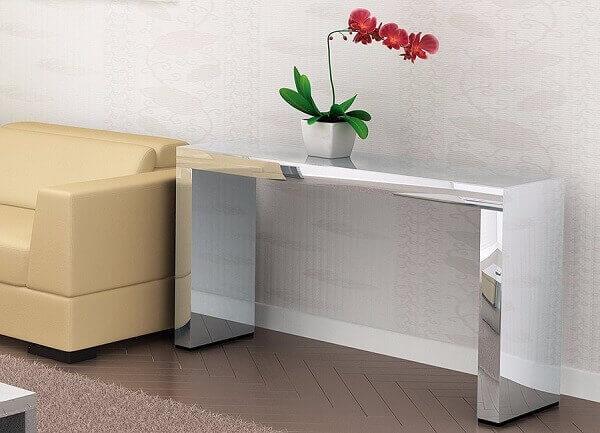 Aparador espelhado para salas