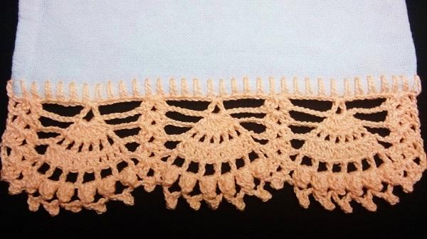 Crochê bico simples e barato