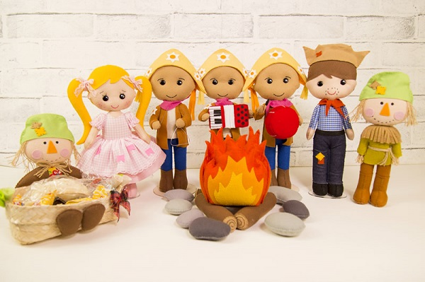 Decoração infantil festa junina