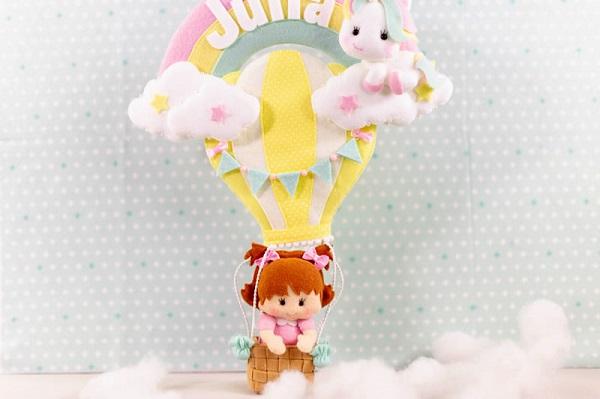 Decoração infantil porta