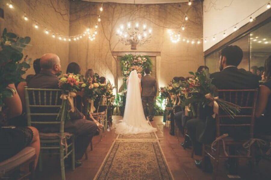 Decoração para Home Wedding