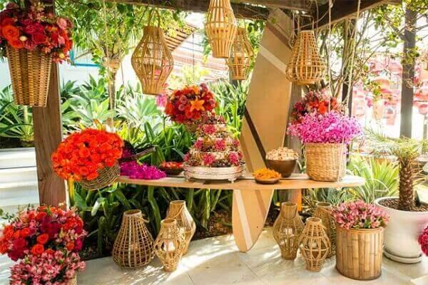 Festa Havaiana casamento tropical