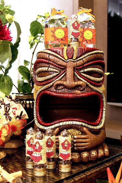Festa havaiana Lembrancinha