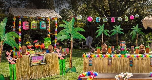Festa havaiana tema