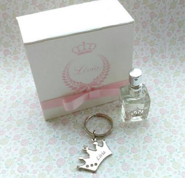 Lembrancinhas de 15 anos caixinha de perfume