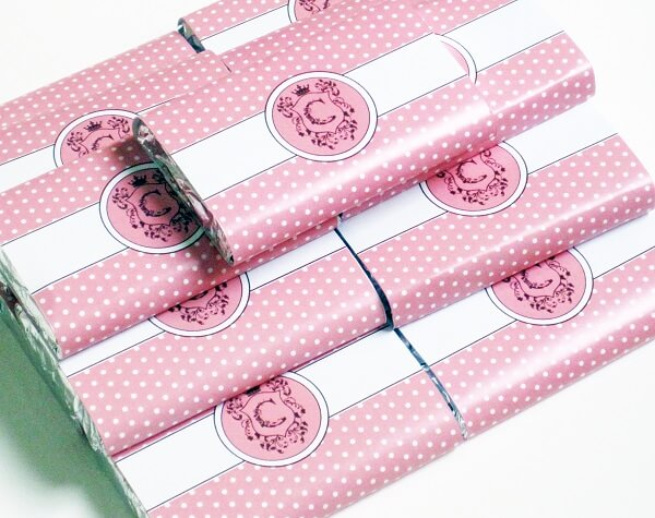 Lembrancinhas de 15 anos chocolates personalizados