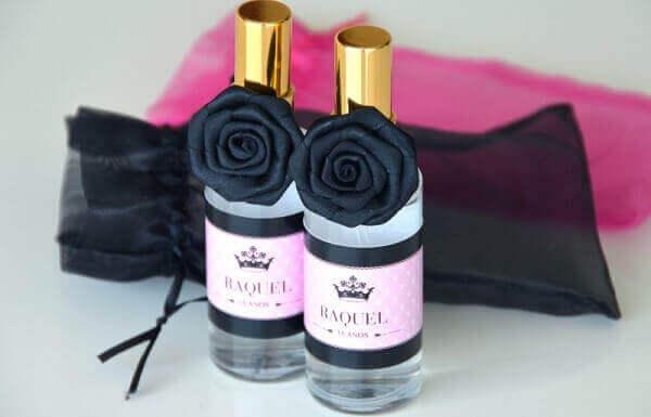 Lembrancinhas de 15 anos perfume