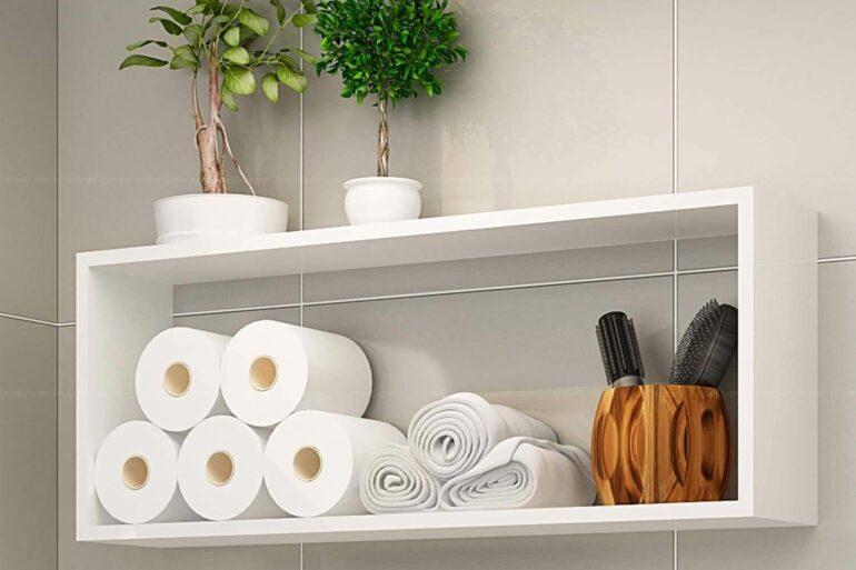 Modelo de nicho para banheiro