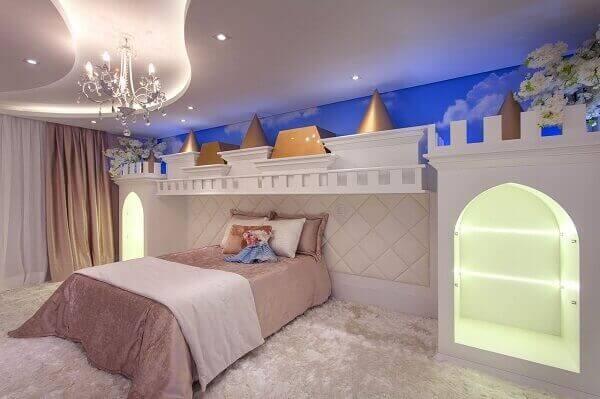 Modelos de quartos para meninas com tema princesa