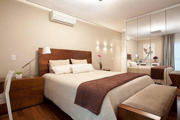 Modelos de quartos planejados para casal