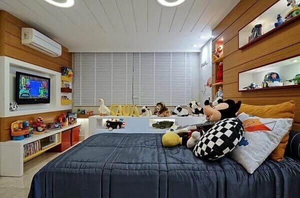 Modelos de quartos planejados para crianças