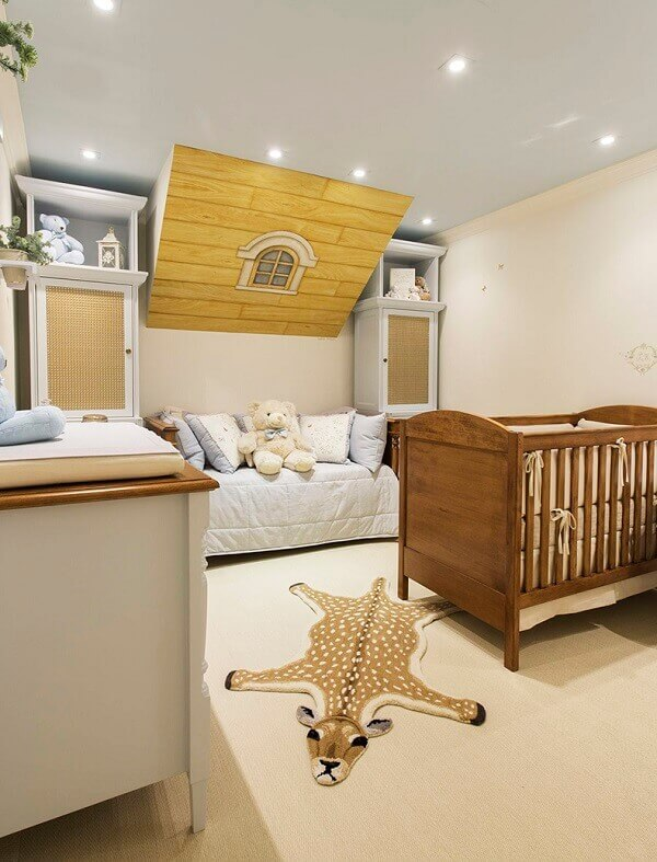 Tapetes na decoração infantil