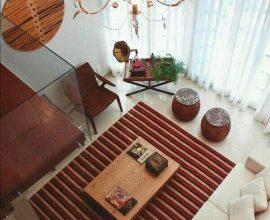 Tapetes na decoracão