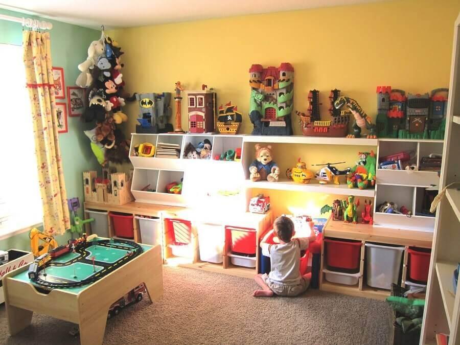 cantinho de brincadeiras para criança Foto Popular Home Interior Decoration
