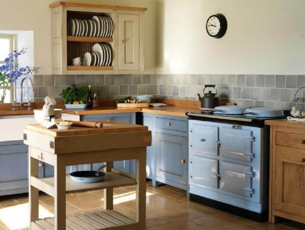 decoração para cozinha retrô simples