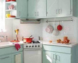 decoração simples para cozinha retrô - Foto - Chloe Elan