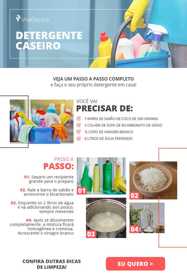 Infográfico - Detergente Caseiro