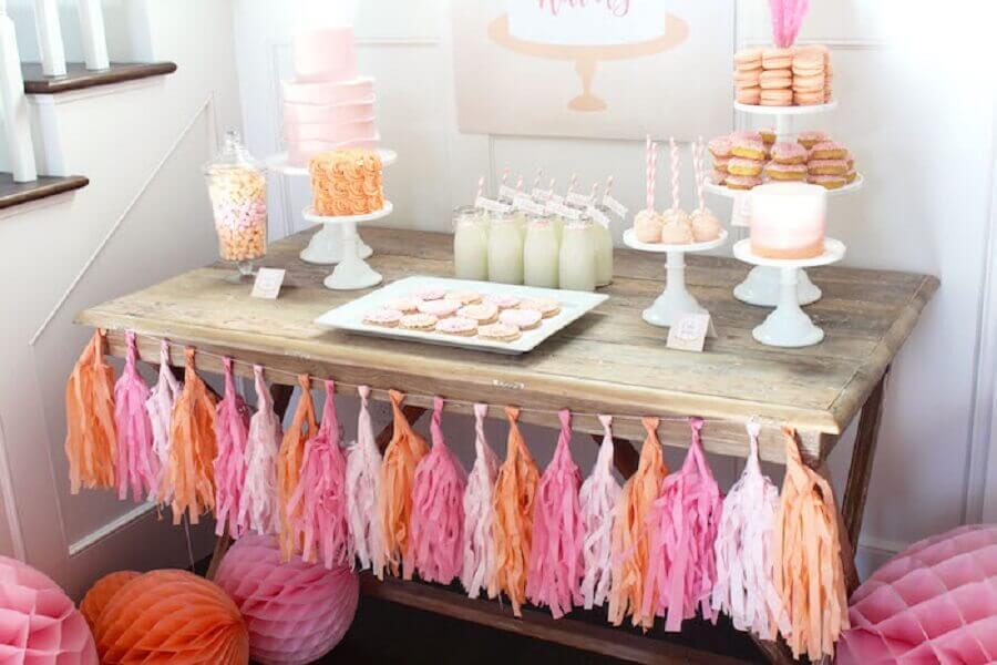 ideia para festa de 15 anos simples em casa