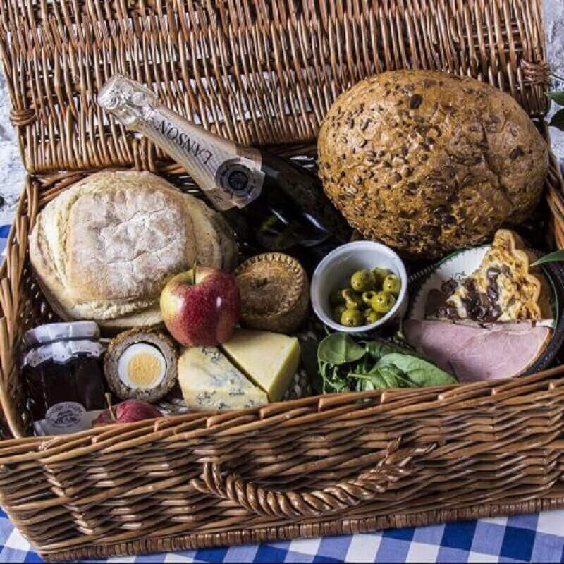 ideia para festa na caixa rústica - Foto wild picnics
