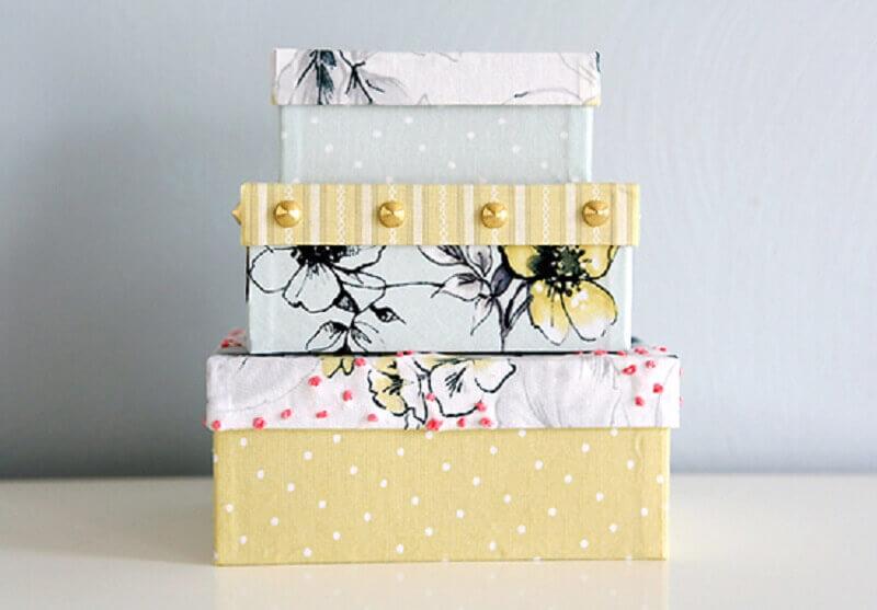 ideias para caixas decoradas Foto Pinterest
