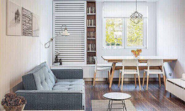 Mesa compacta para sala de jantar