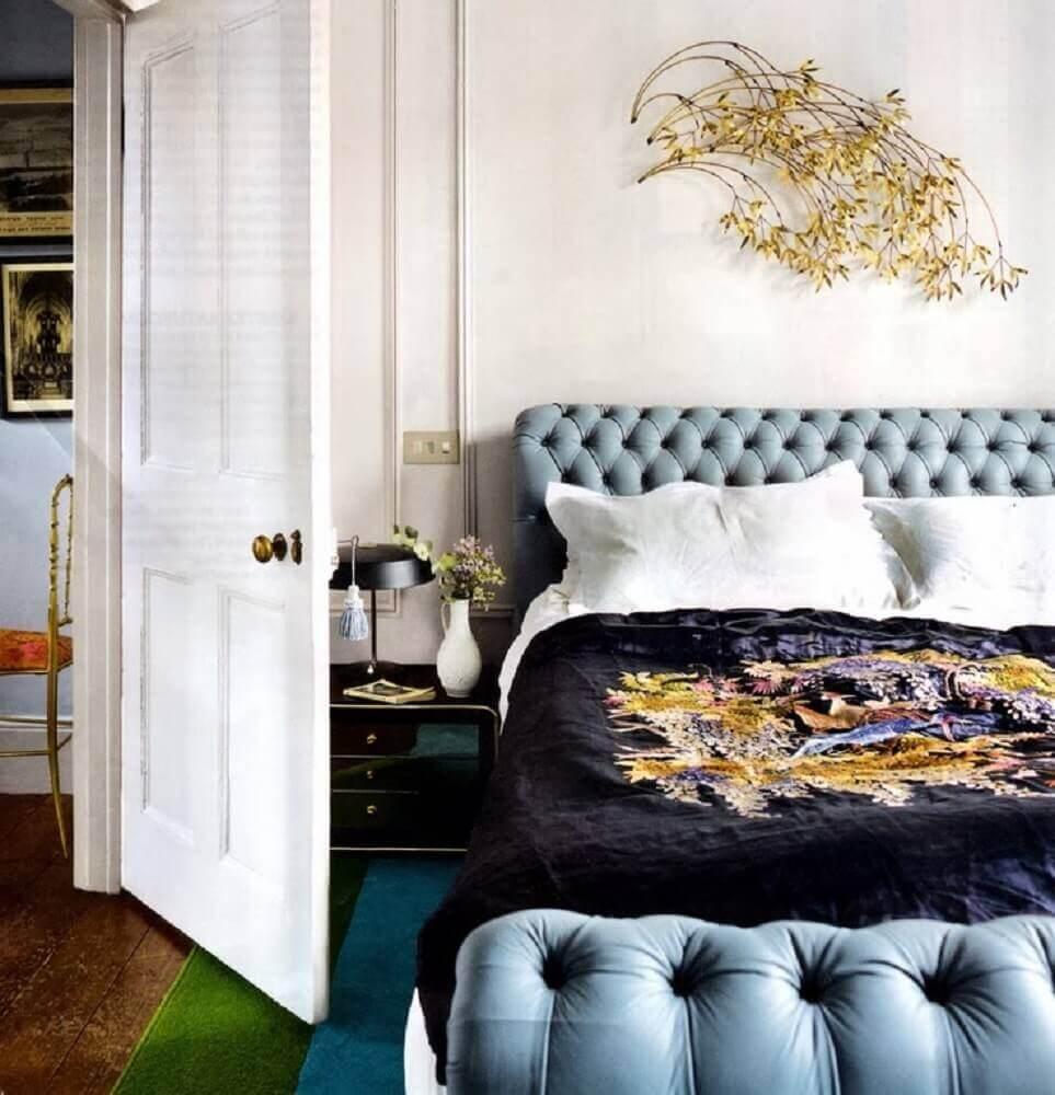 modelo de cabeceira capitonê casal - Foto MHerger Furniture