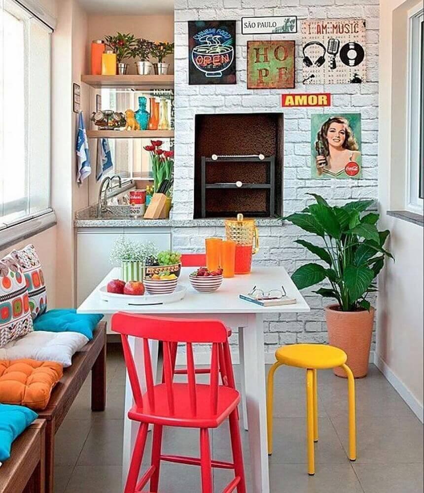 modelos de quadros retrô para cozinha