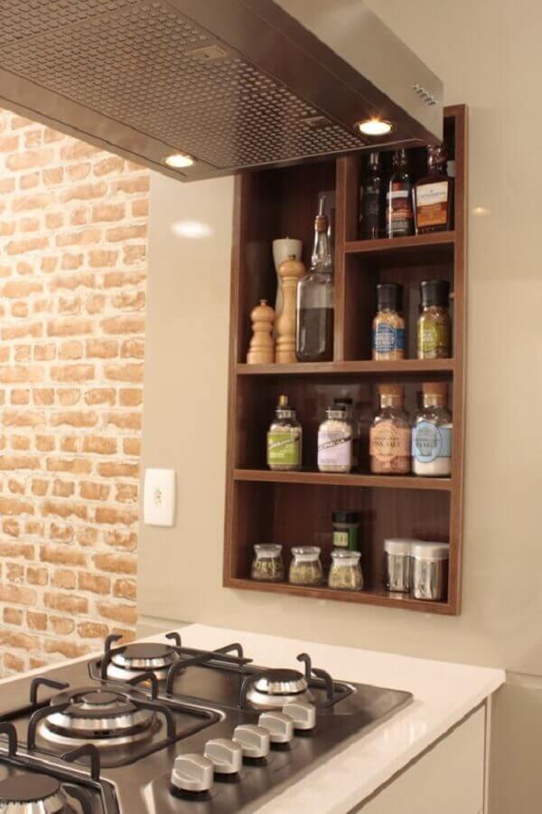 nichos para cozinha temperos Foto Homify