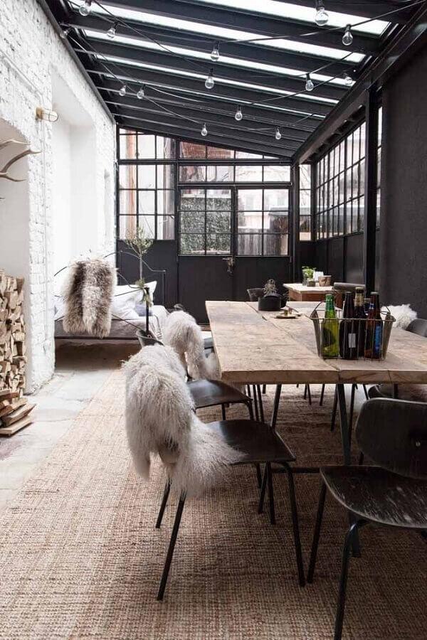 varanda decorada com estilo hygge Foto Casa Très Chic