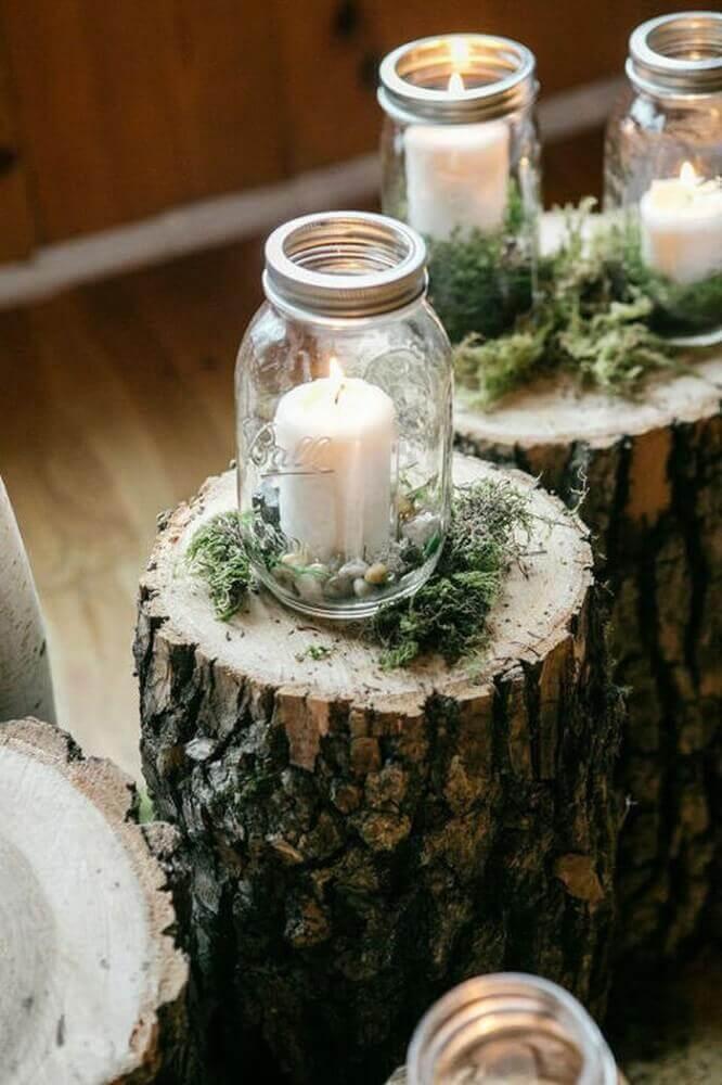 velas para decoração hygge Foto Therapy Box
