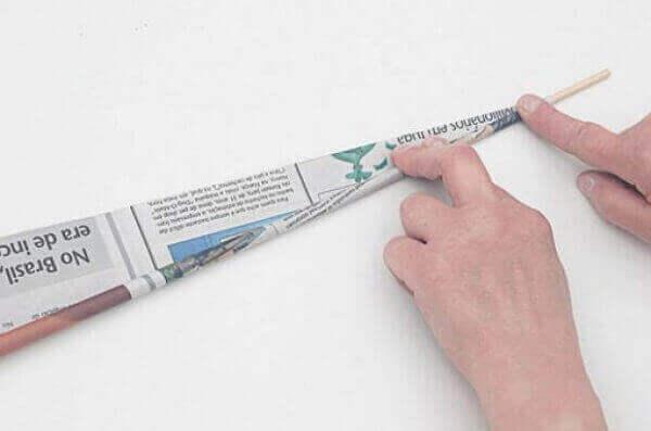 Artesanatos em geral enrolar canudinhos passo a passo