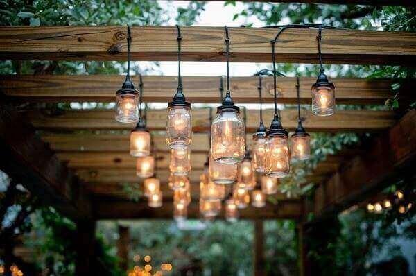 Artesanatos em geral luminária