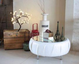 Artesanatos em geral mesa de centro